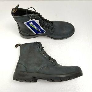 Blundstone Lace Up Boots Blue AU 9.5 Mens 10.5